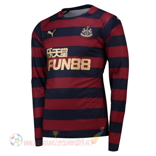 Destockage Maillot De Foot PUMA Exterieur Manches Longues Newcastle United 2018-2019 Rouge