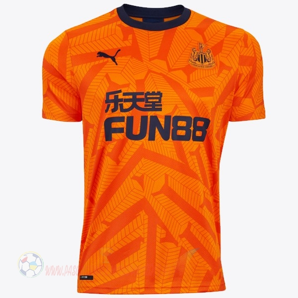 Destockage Maillot De Foot Puma Third Maillot Newcastle United 2019 2020 Orange
