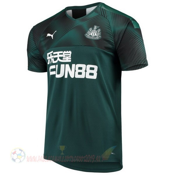 Destockage Maillot De Foot PUMA Exterieur Maillot Newcastle United 2019 2020 Vert