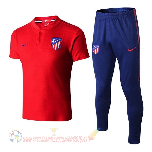 72f46def531d2 Destockage Maillot De Foot Nike Ensemble Polo Atlético Madrid 2018-2019  Rouge