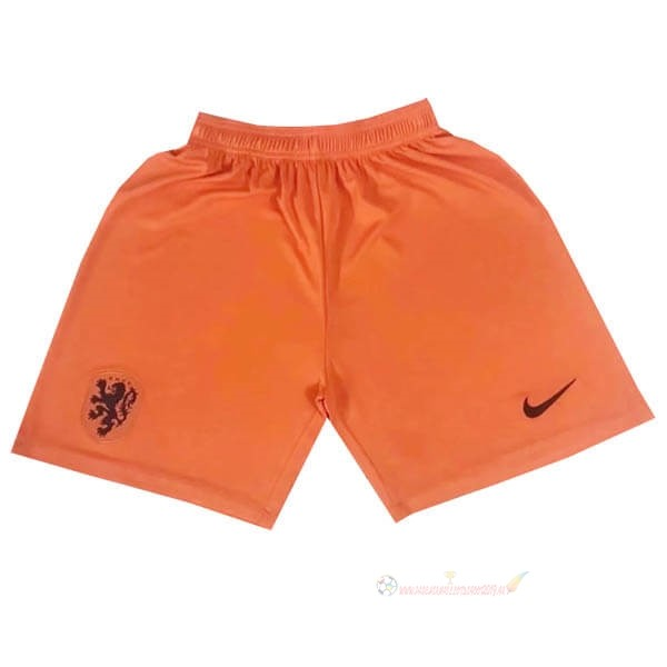 Destockage Maillot De Foot adidas Domicile Pantalon Pays-Bas 2020 Orange