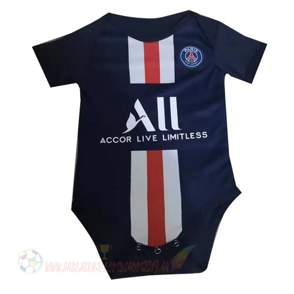 Destockage Maillot De Foot Nike Domicile Onesies Enfant Paris Saint Germain 2019 2020 Bleu
