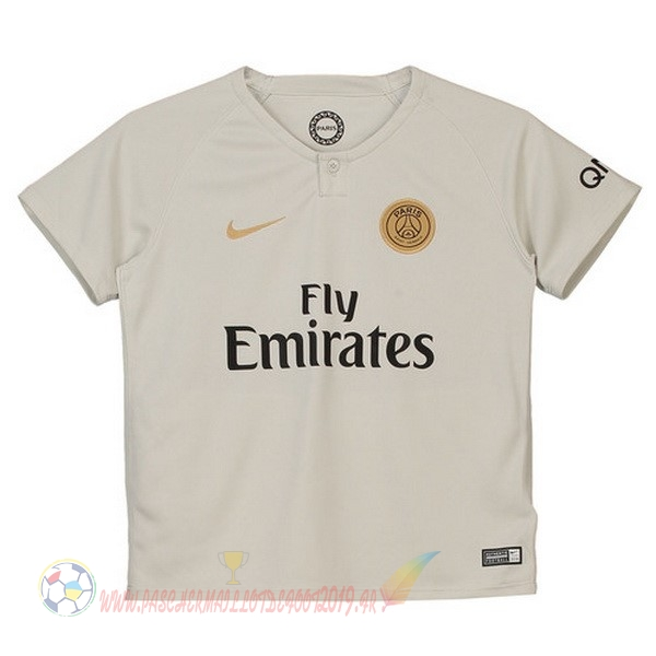Destockage Maillot De Foot Nike Exterieur Ensemble Enfant Paris Saint Germain 2018 2019 Blanc