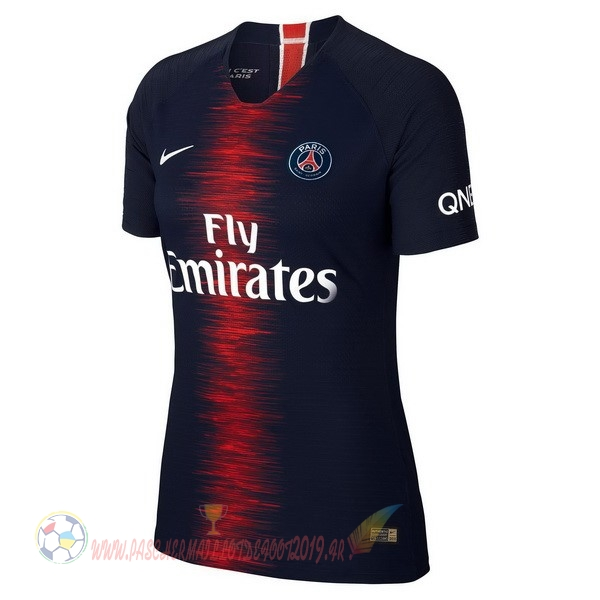 Destockage Maillot De Foot Nike Domicile Maillots Femme Paris Saint Germain 2018 2019 Bleu