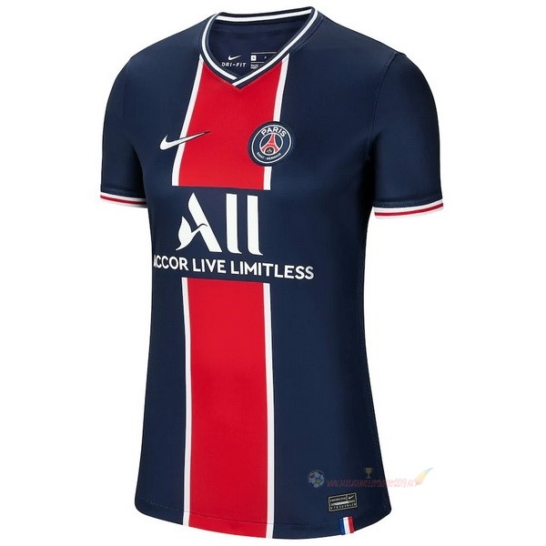 Destockage Maillot De Foot Nike Domicile Maillot Femme Paris Saint Germain 2020 2021 Bleu