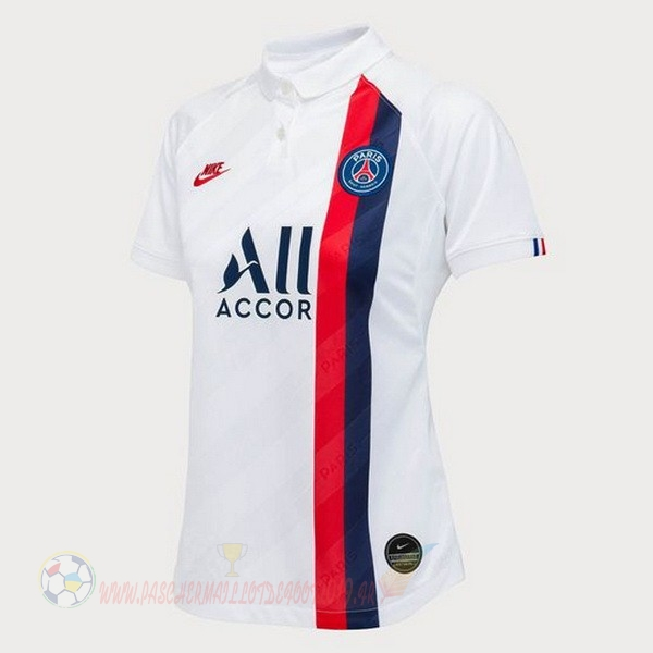 Destockage Maillot De Foot Nike Third Maillot Femme Paris Saint Germain 2019 2020 Blanc