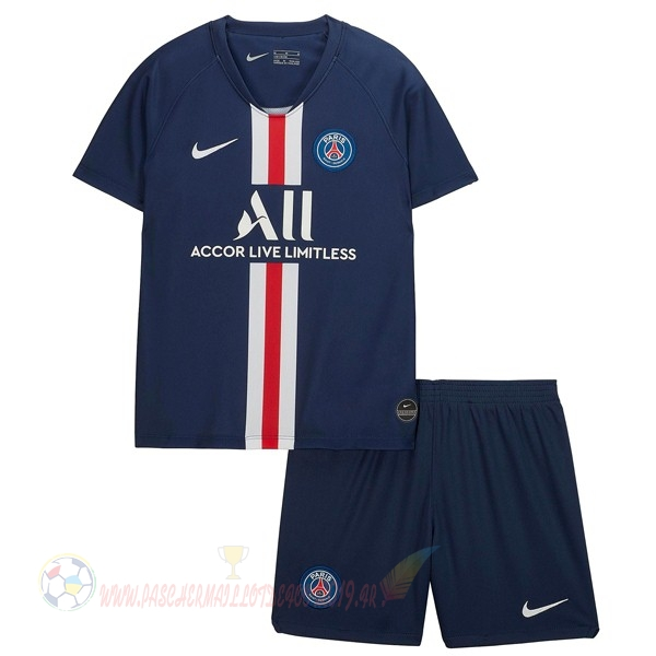Destockage Maillot De Foot Nike Domicile Ensemble Enfant Paris Saint Germain 2019 2020 Bleu