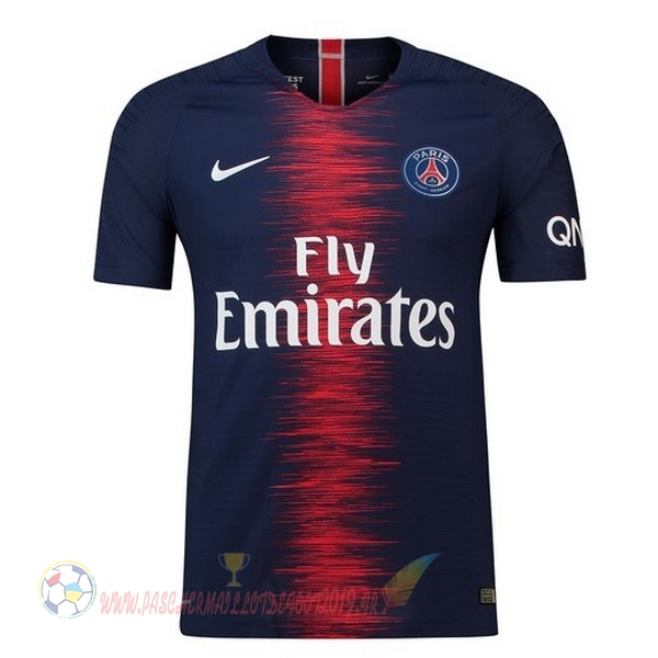 Destockage Maillot De Foot Nike Domicile Maillots Paris Saint Germain 2018 2019 Bleu