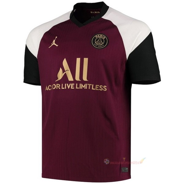 Destockage Maillot De Foot JORDAN Third Maillot Paris Saint Germain 2020 2021 Bordeaux