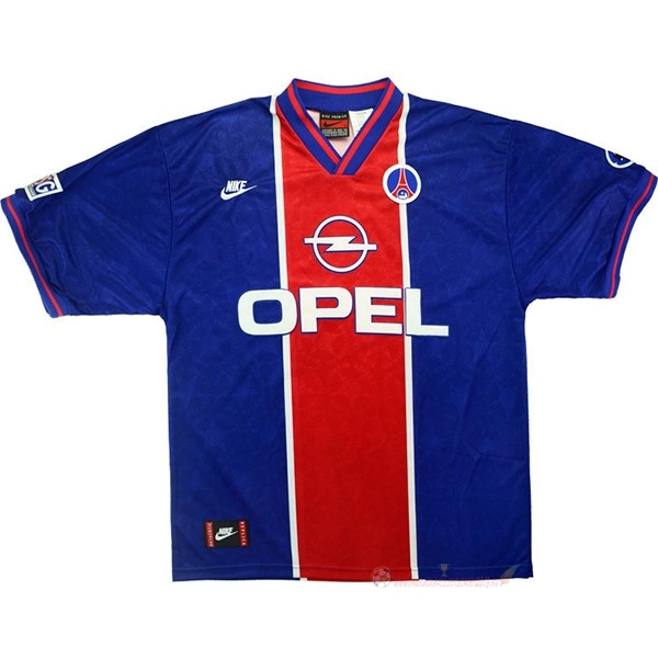 Destockage Maillot De Foot Nike Domicile Maillot Paris Saint Germain Rétro 1995 1996 Bleu