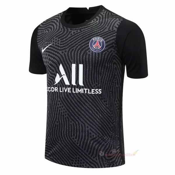 Destockage Maillot De Foot Nike Maillot Gardien Paris Saint Germain 2020 2021 Noir