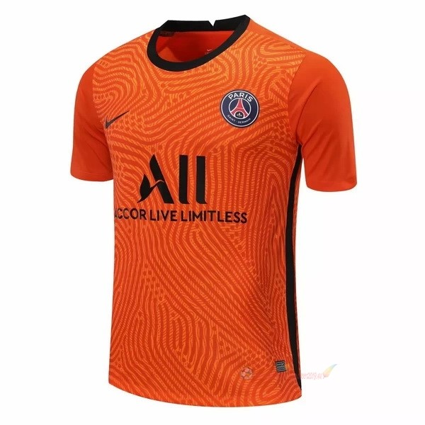 Destockage Maillot De Foot Nike Maillot Gardien Paris Saint Germain 2020 2021 Orange