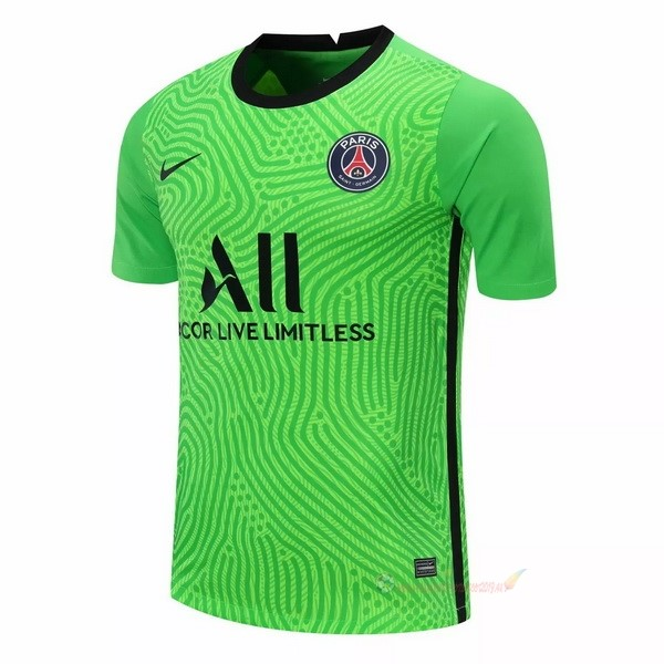 Destockage Maillot De Foot Nike Maillot Gardien Paris Saint Germain 2020 2021 Vert