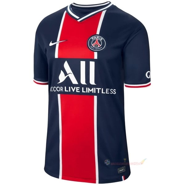 Destockage Maillot De Foot Nike Thailande Domicile Maillot Paris Saint Germain 2020 2021 Bleu
