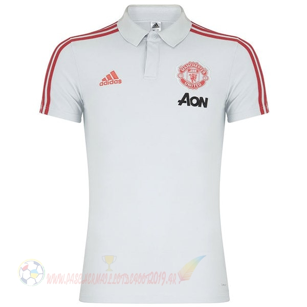 Destockage Maillot De Foot Adidas Polo Manchester United 2019 2020 Blanc