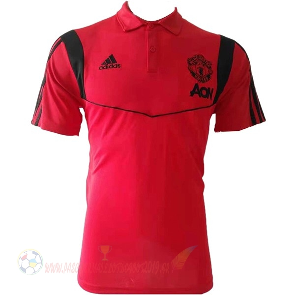 Destockage Maillot De Foot Adidas Polo Manchester United 2019 2020 Rouge