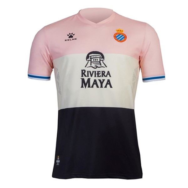 Destockage Maillot De Foot Kelme Third Maillot RCD Espanyol 2019 2020 Rose