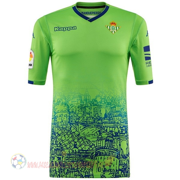 Destockage Maillot De Foot Kappa Third Maillots Real Betis 2018-2019 Vert