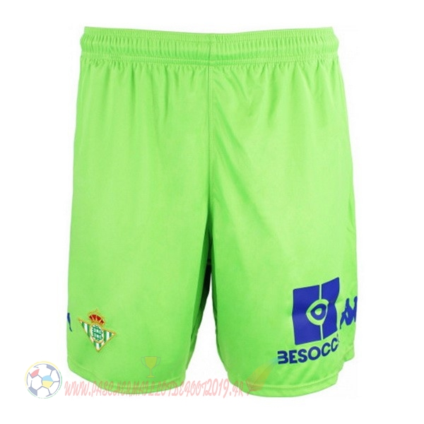 Destockage Maillot De Foot Kappa Third Shorts Real Betis 2018-2019 Vert