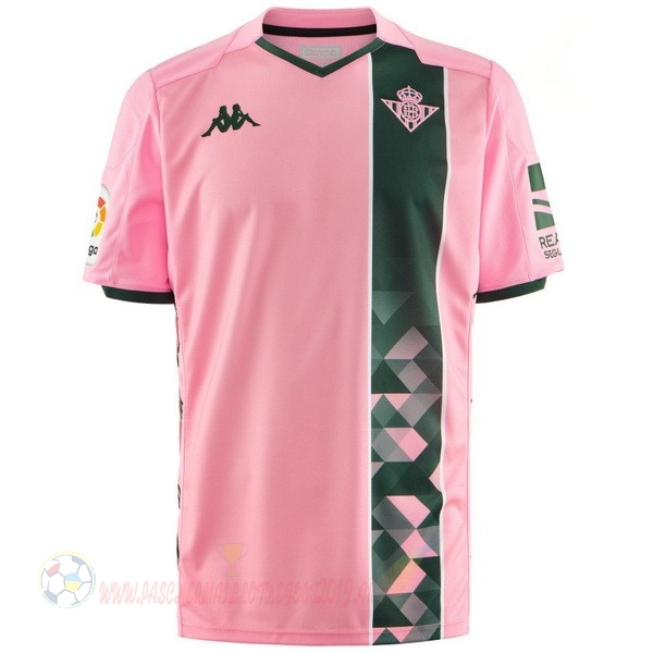Destockage Maillot De Foot Kappa Third Maillot Real Betis 2019 2020 Rose