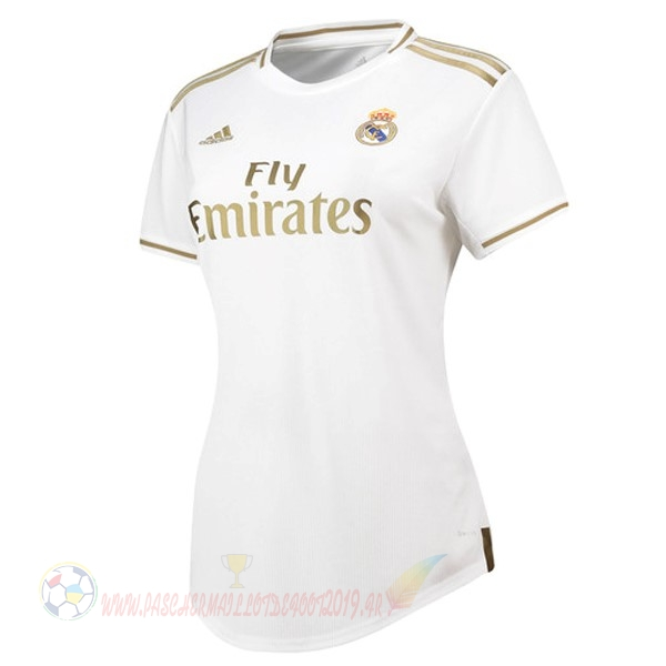 Destockage Maillot De Foot adidas Domicile Maillot Femme Real Madrid 2019 2020 Blanc