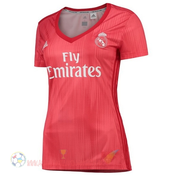Destockage Maillot De Foot adidas Third Maillots Femme Real Madrid 2018-2019 Rouge