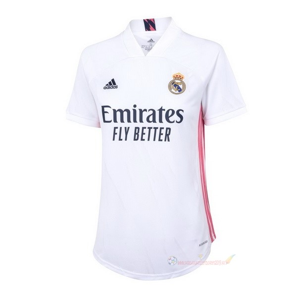 Destockage Maillot De Foot adidas Domicile Maillot Femme Real Madrid 2020 2021 Blanc