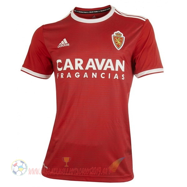 Destockage Maillot De Foot adidas Exterieur Maillots Real Zaragoza 18-19 Rouge