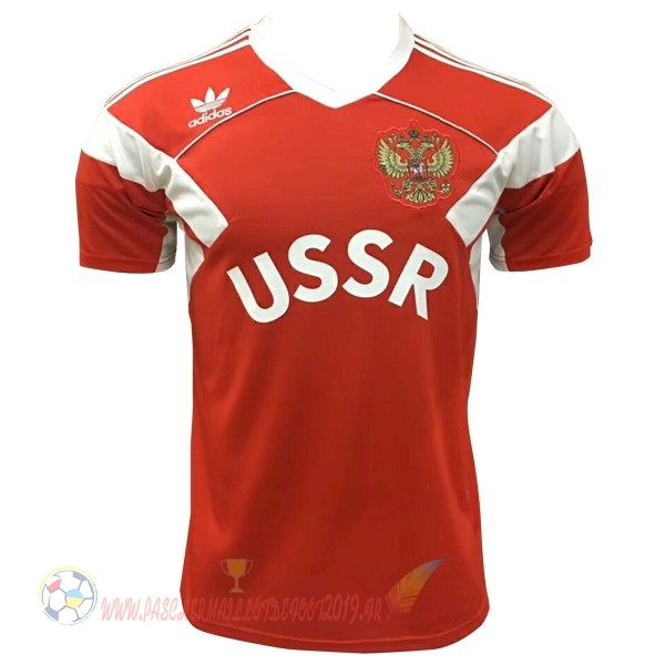 Destockage Maillot De Foot adidas Édition commémorative Maillots Russie 2018 Rouge