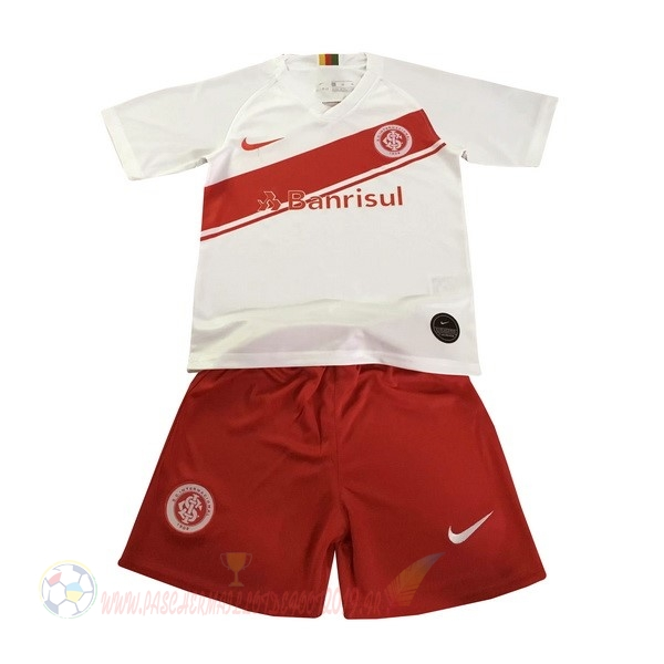 Destockage Maillot De Foot Nike Exterieur Ensemble Enfant Internacional 2019 2020 Blanc