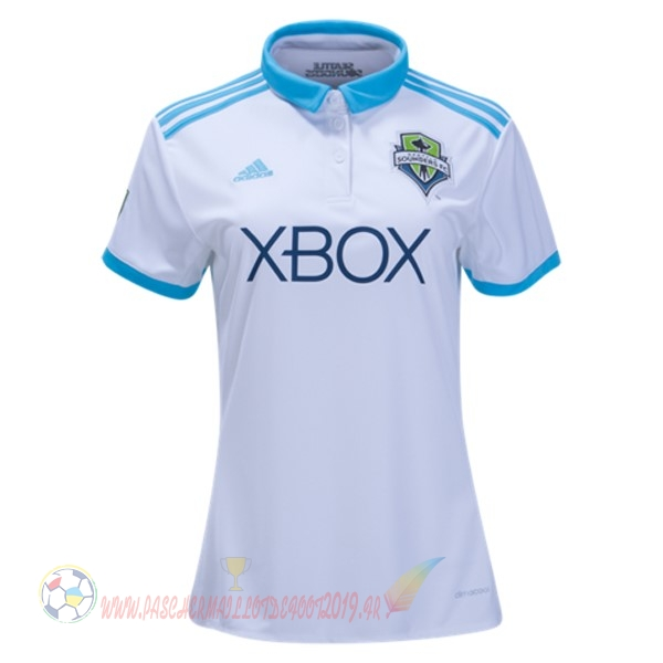 Destockage Maillot De Foot adidas Domicile Maillots Femme Sounders de Seattle 2017 2018 Blanc