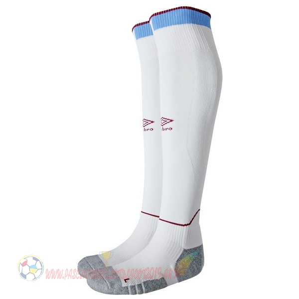 Destockage Maillot De Foot umbro Domicile Chaussettes West Ham United 2018-2019 Blanc