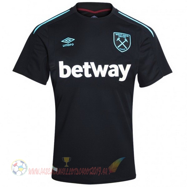 Destockage Maillot De Foot umbro Exterieur Maillots West Ham 2017 2018 Noir