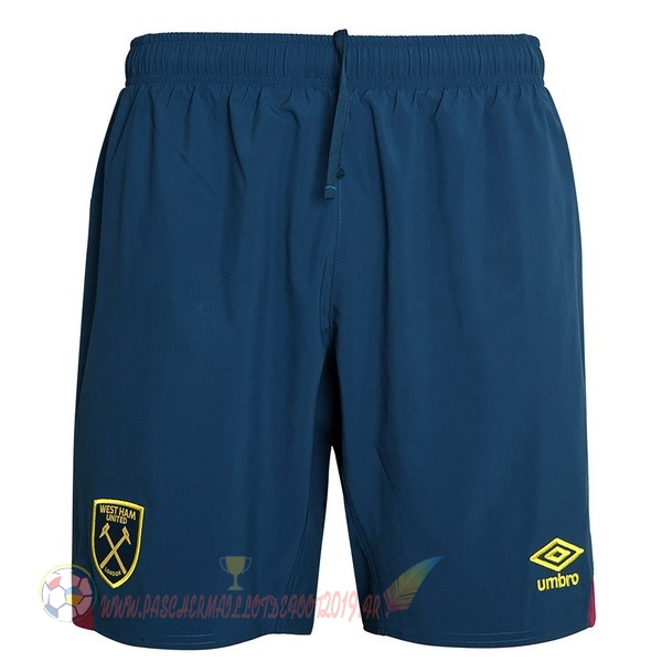 Destockage Maillot De Foot umbro Exterieur Shorts West Ham United 2018-2019 Bleu