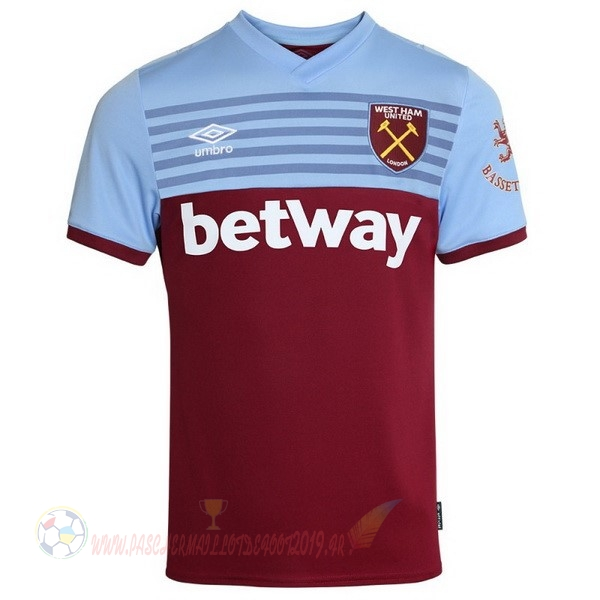 Destockage Maillot De Foot umbro Domicile Maillot West Ham 2019 2020 Rouge