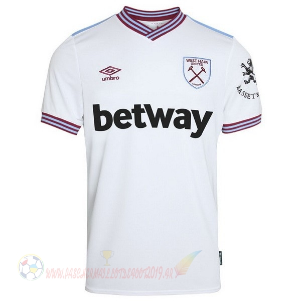 Destockage Maillot De Foot umbro Exterieur Maillot West Ham 2019 2020 Blanc